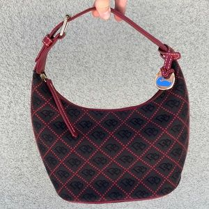 Dooney & Bourke monogram mini hobo bag